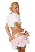 Beatrix Student nurse istripper model