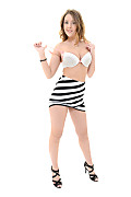 Sybil Trouble and Stripe istripper model
