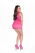 Allie Haze Lively Pink istripper model