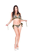 Jelena Jensen Covert Swim istripper model