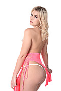 Sandra Blonde Blissful Evening istripper model