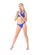 Angelika Grays Deep In Blue istripper model