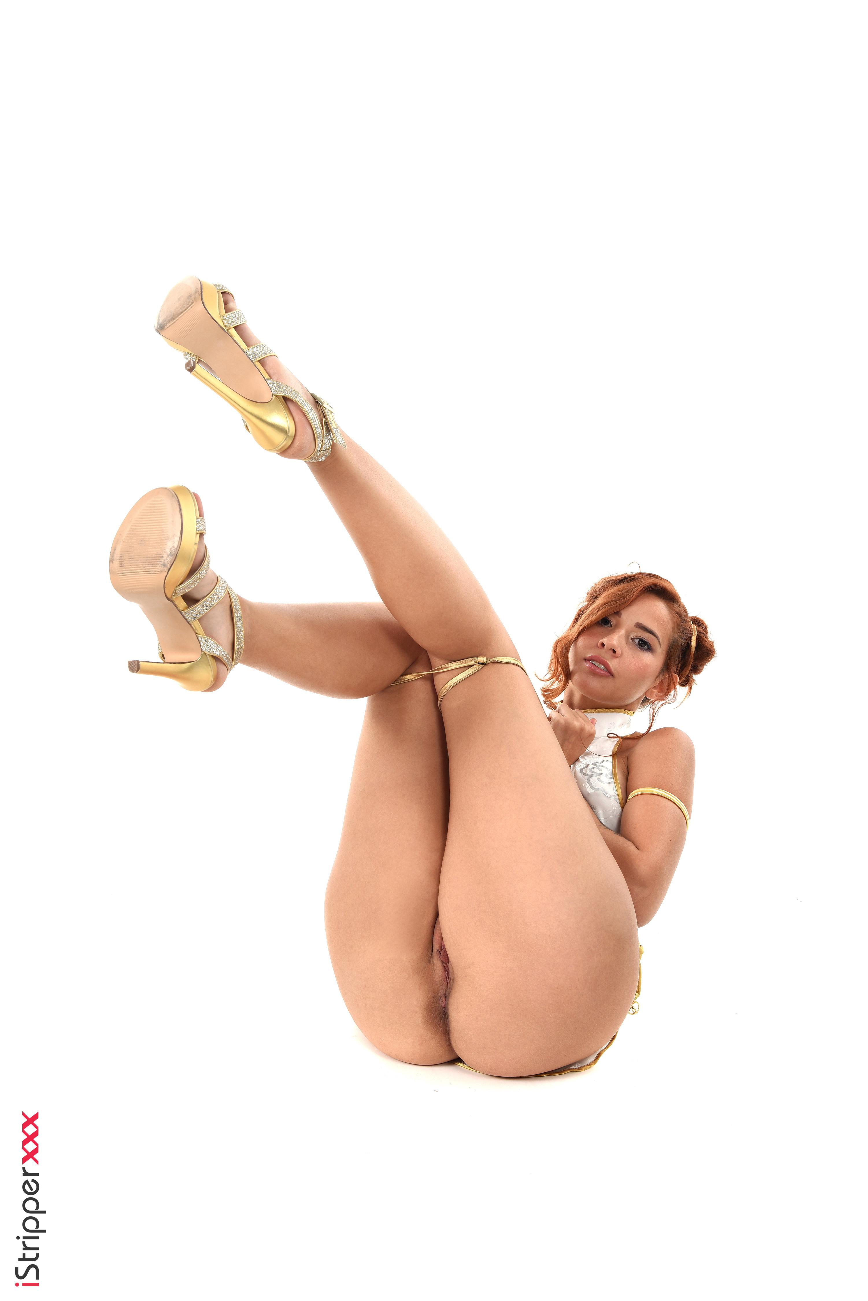 girl in hot lingerie